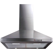 CDA 60cm Extractor Hood Stainless Steel 360ltr Extraction Rate 3speed Twin Fan Motor 58 d/b