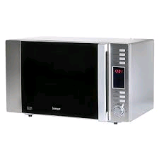 Igenix 30L Digital Combination Silver Microwave 900w Stainless Steel Interior