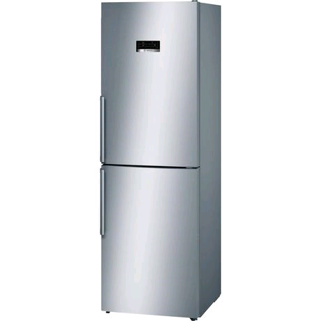 Bosch No Frost Fridge Freezer 222/128ltr in Stainless Steel Look