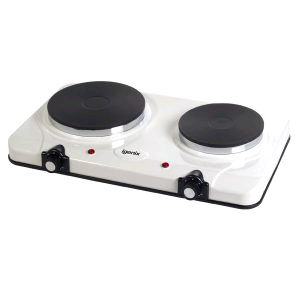 DOUBLE HOTPLATE WHITE 2250W