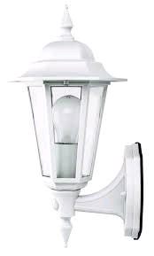JCC Regal Upwards Lantern c/w PIR White