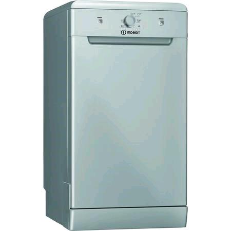 Indesit Slimline Dishwasher 10 Place in Silver