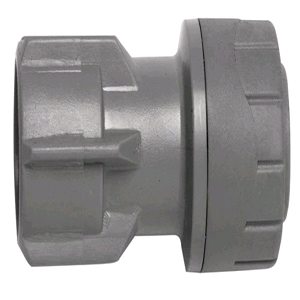 "PolyPlumb 15 x 3/4"" Tap Connector Hand Tightened"