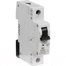 MK Sentry SP 10a B Rated MCB
