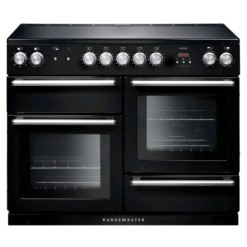 Rangemaster 104830 Nexus 110 IND BLACK CHROME Induction 110cm