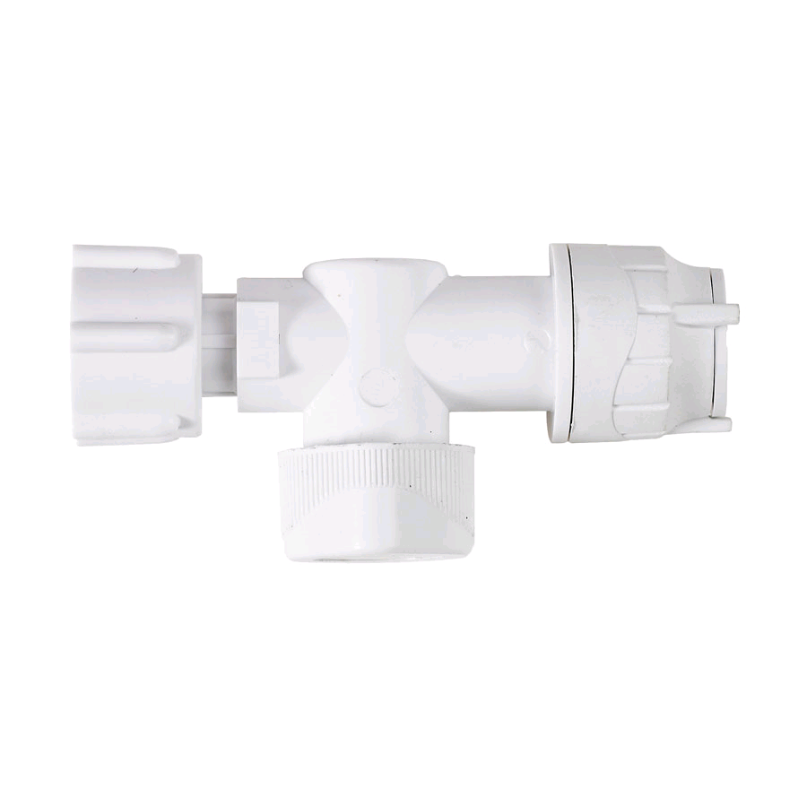 """Polypipe PolyFit 15mm x 1/2""""  Straight Service Valve"""