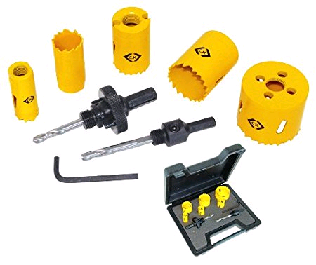 CK Hole Saw Electricians Kit (9 piece Set)