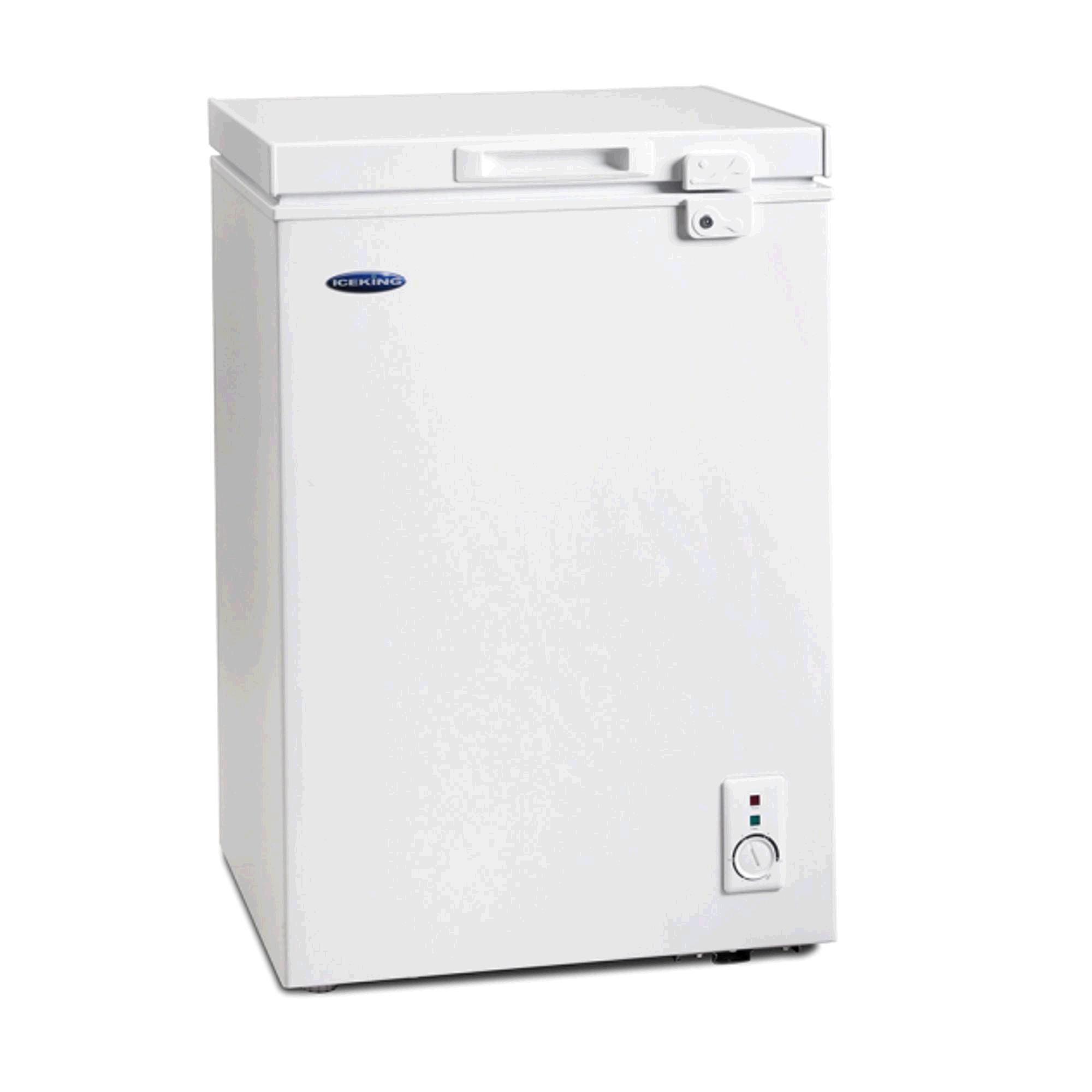 ICEKING 98L Chest Freezer WHITE