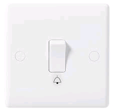 BG Bell Push Plate Switch