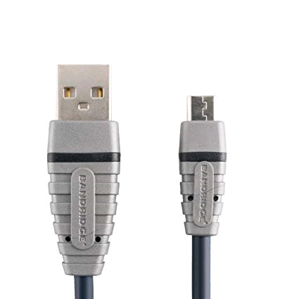 Bandridge USB to Micro USB Cable 1mtr