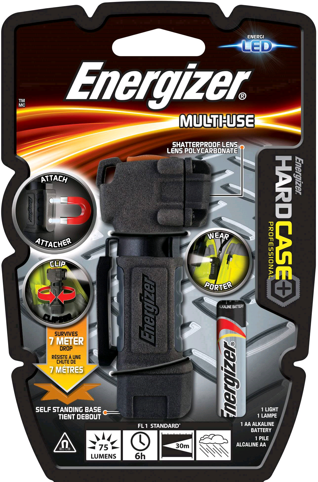 Energizer Hardcase Multiuse Compact Mini-Light S14676