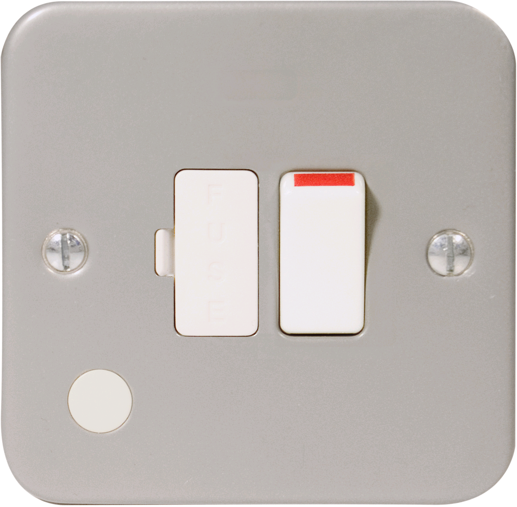 BG Metal Clad 13a Switched Fused Spur c/w Flex Outlet