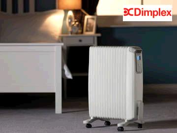 Dimplex 1400716 Oil Free Radiator + Thermometer & Timer 2kw EVORAD2E