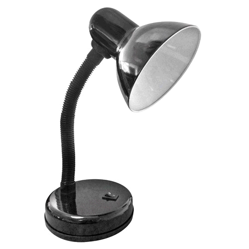 Power Master S6301 Flexi Desk Lamp Black 40w ES/E27GLS lamp required