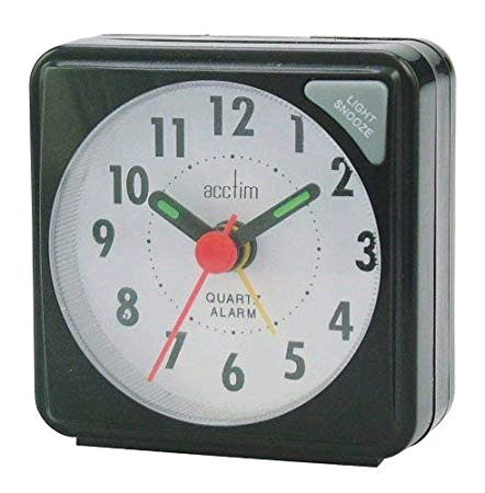Acctim CK2020 LCD Alarm Clock Black