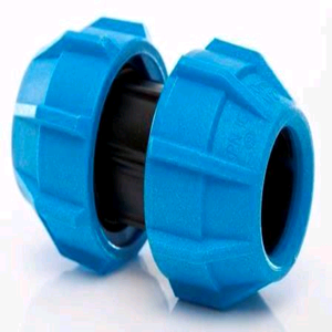 Polypipe Straight Coupler 20mm (for MDPE)