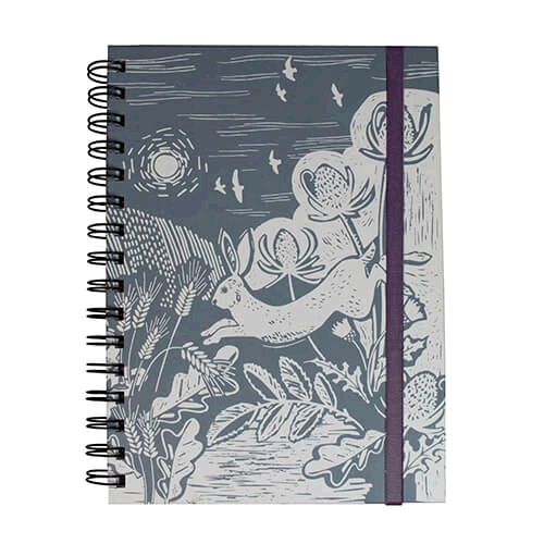 English Tableware Company DD08CCB23  Artisan Notebook Hare