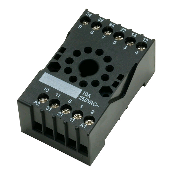 CED Plug-In Relay Base 11Pin Din Mounting Surface