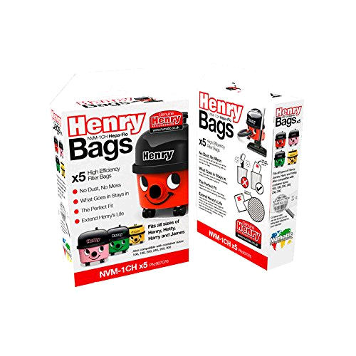 Numatic Cleaner Bags Henry 5 in box 907076