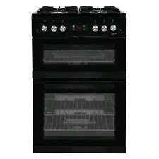 Beko 60cm Gas cooker Black LPG Convertible (Jets not included)