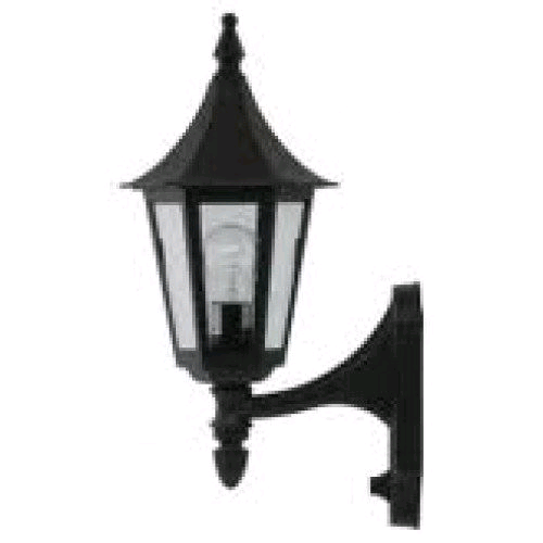 JCC Regal Upwards Lantern Black