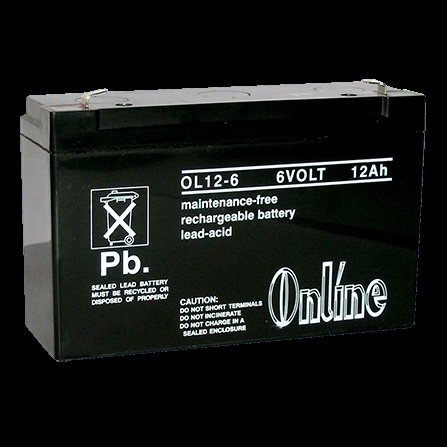 Battery Rechargeable 6V 12AH LY11-039-24