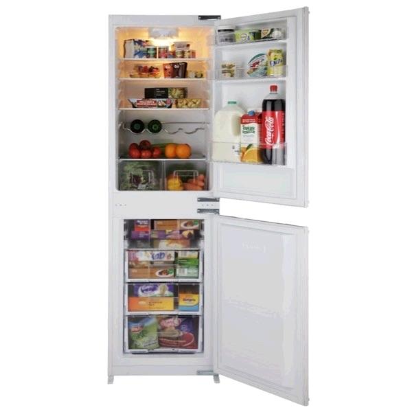 Montpellier Frost free Built In Integrated Fridge Freezer 50/50 Split