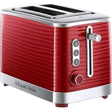 Russell Hobbs Inspire 2 Slice Toaster Red