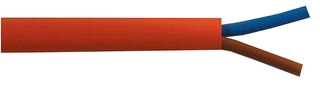 Orange Flex 0.75mm 2Core Round (per mtr)