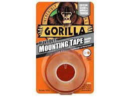 Gorilla Tape Clear Heavy Duty Mounting 25.4mm x 1.52Mtr