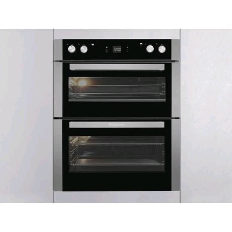 Blomberg Built-In/Built Under Electric Double Oven in Stainless Steel