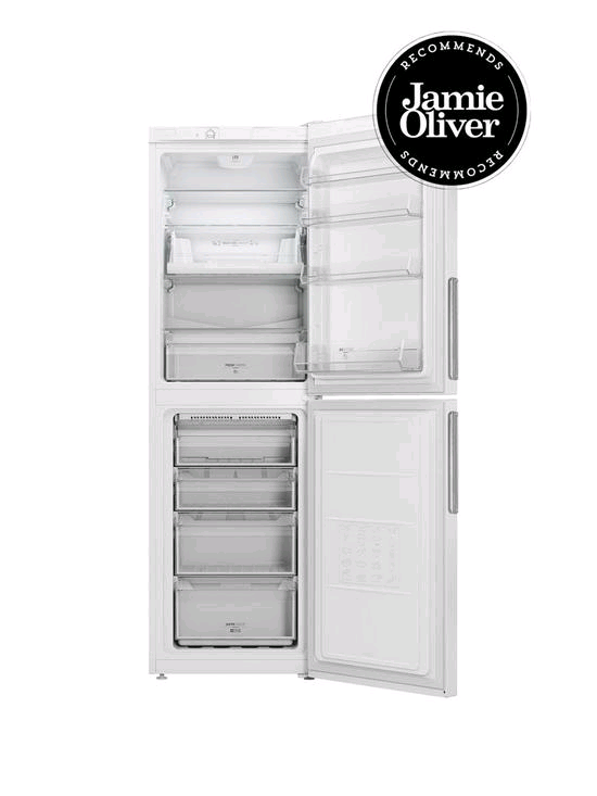 Hotpoint Frost Free Fridge Freezer WHITE 188/108L Height 189 Width 60cm