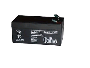 Battery Rechargeable 12V 3.3AH