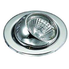 JCC Fireguard LV Eyeball Downlight Brushed Nickel