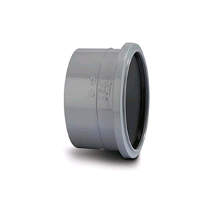 "Soil Pipe Single Socket 4"" /110mm Grey"