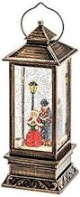 KONSTSMIDE 2864-000 LANTERN WITH DICKENSIAN STYLE WATER FILLED SQUARE WW
