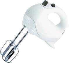 Sabichi White Hand Mixer 5Speed