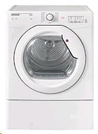 HOOVER  8kg , Vented, Sensor, White, Glass Door LED Display