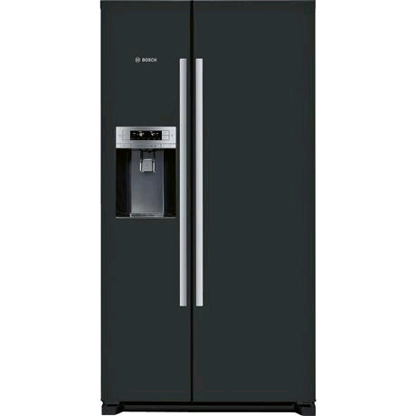 Bosch American Style Fridge Freezer Side By Side Plumbed Water/Ice Dispencer