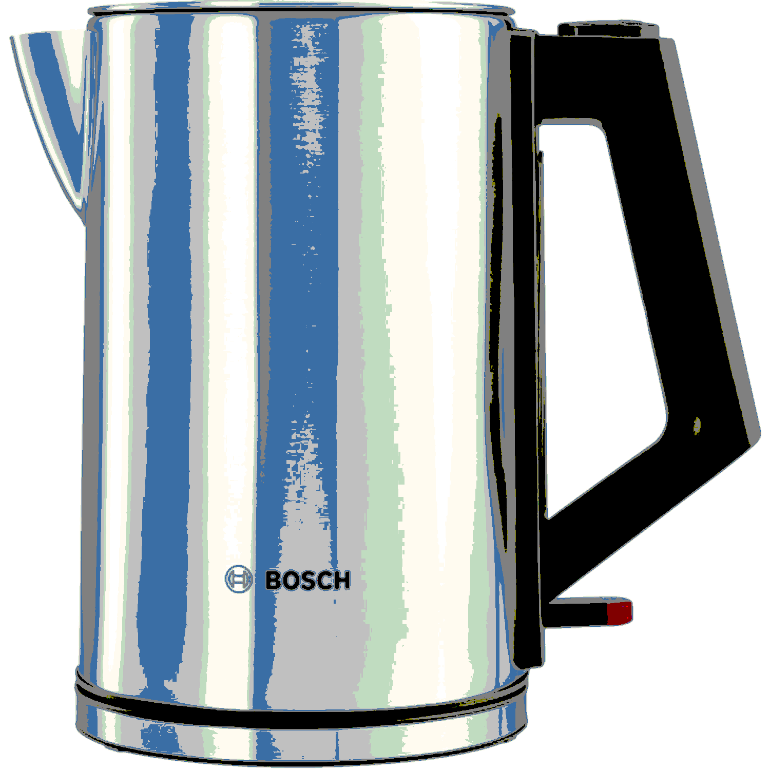 Bosch City Collection Kettle in Stainless Steel