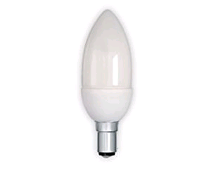 Lamp Low Energy Candle 9W SBC 50W