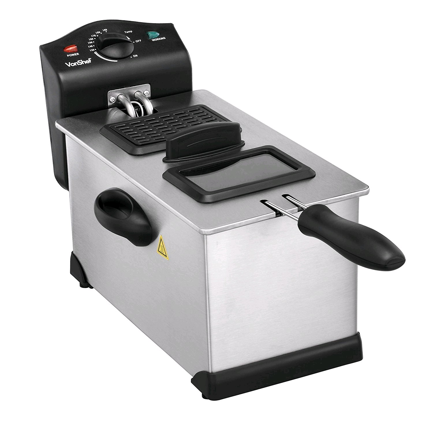 Morphy Richards Deep Fat Fryer 3L Burshed Steel