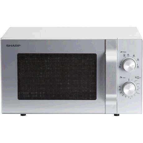 Sharp 204SLM  20 Litre 800W Solo Microwave � Silver