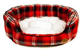 PETFACE 15144 TARTAN BED SMALL