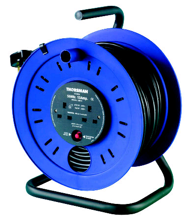 Thorsman 2Gang 25Mtr Extension Reel