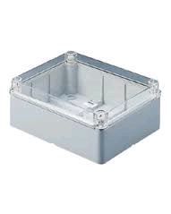 Gewiss Enclosure Box 150 x 110 x 70mm c/w Clear Lid