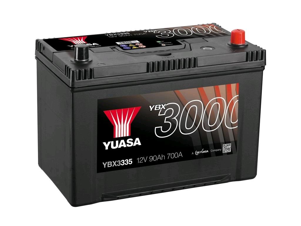 Yuasa 12V 90Ah 700A SMF Battery 12mnth
