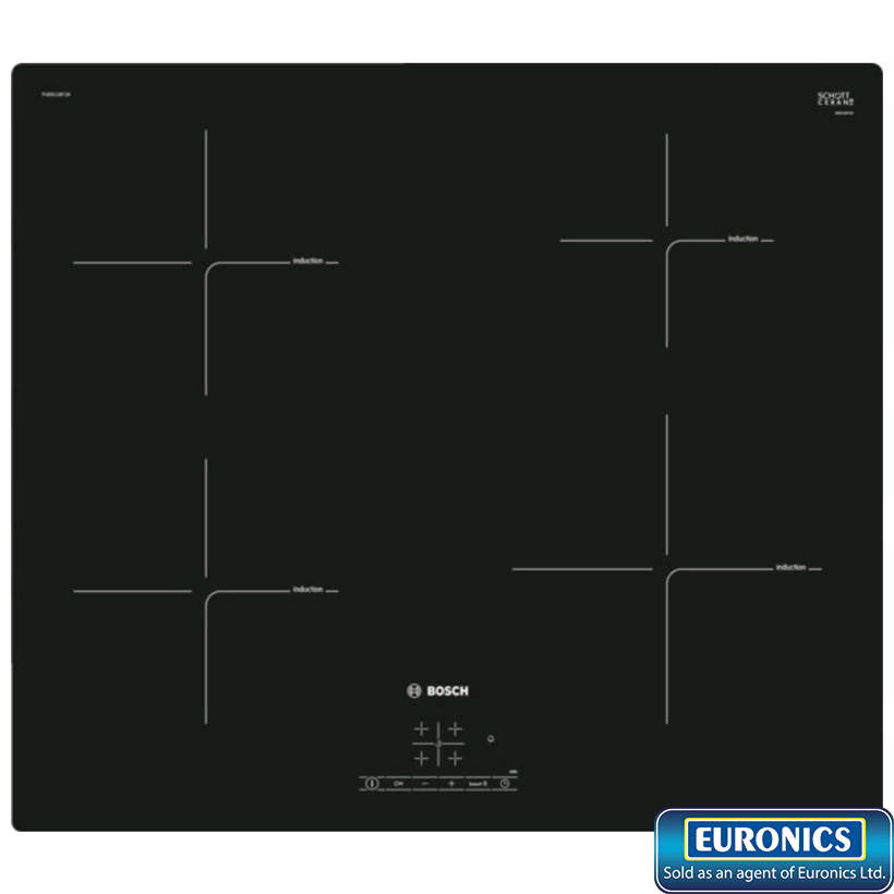Bosch Induction Hob Touch Control Frameless Plug and Play
