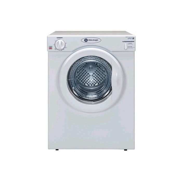 White Knight Compact Tumble Dryer 3.5Kg H67 x W50 X D47