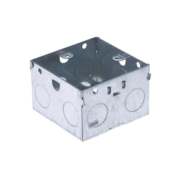 Knock Out Metal Box 1gang 47mm